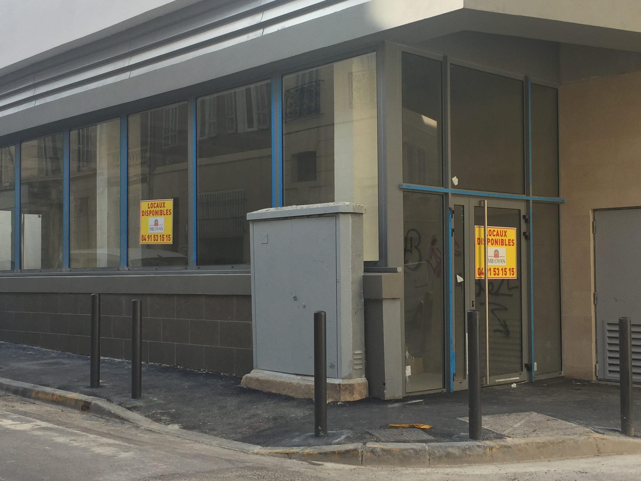 Location local commercial neuf 159 m² – Quartier Lodi – A louer Marseille 13006