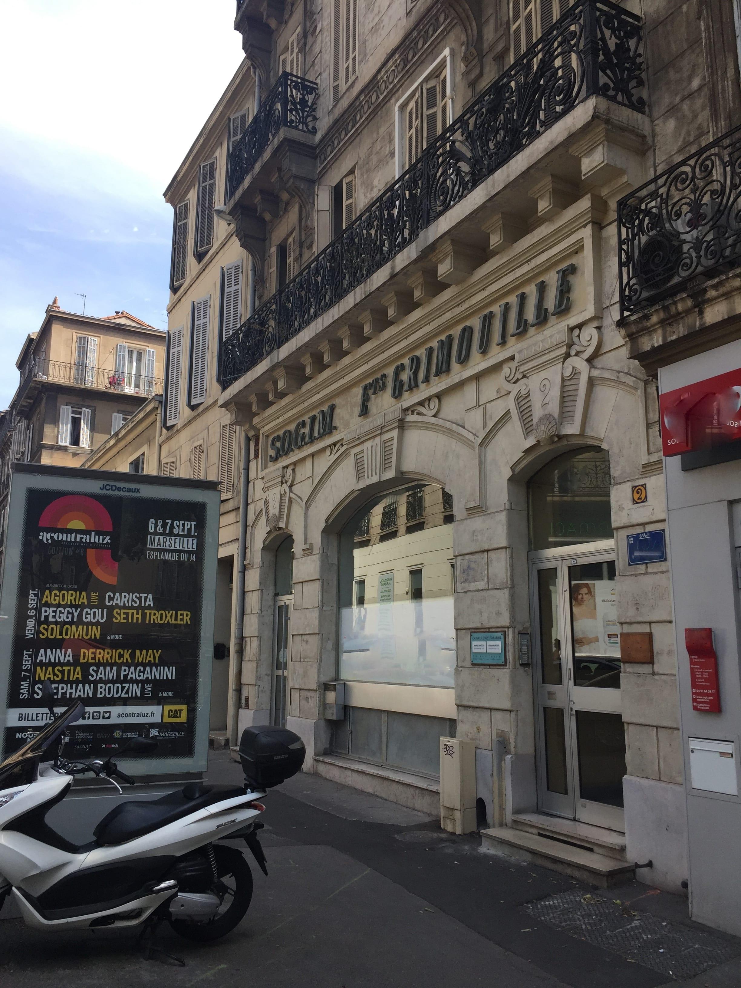 Bureaux 330 m²- A louer Marseille 13006 Centre Ville Castellane