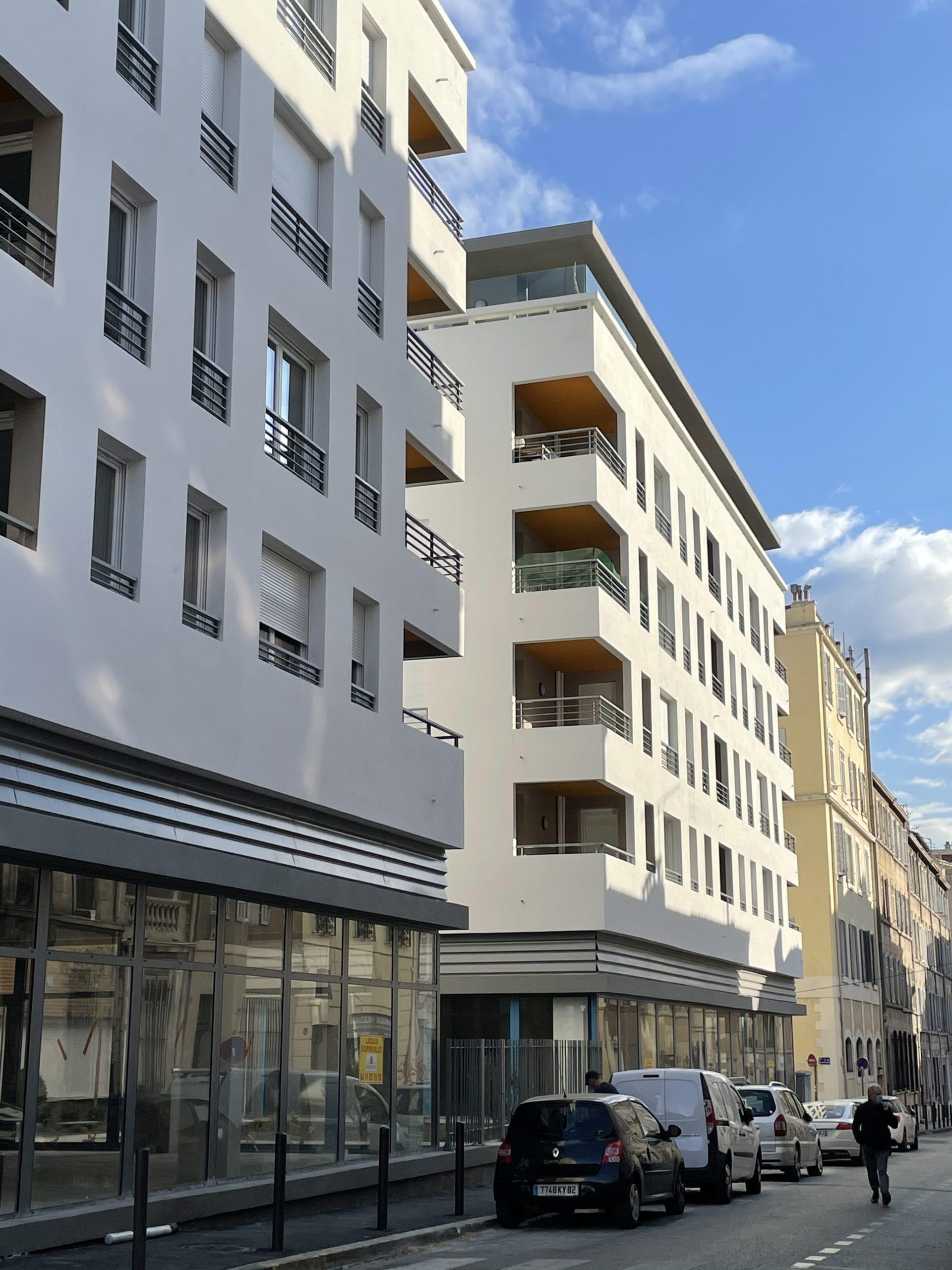 Location local commercial neuf 139 m² – Quartier Lodi / Baille – A louer Marseille 13006